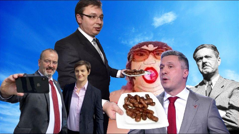 Hoće li Boško Vučića da ruši, il' hoće da mu puši?