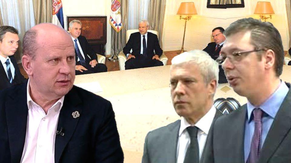 Đorđević: Dok je Tadić bio predsednik, Vučić je svakodnevno dolazio u zgradu Predsedništva (VIDEO)