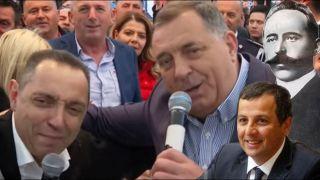 Dodik poručio sa Manjače: Narod ako mi ne veruje, NEK SE JEBE