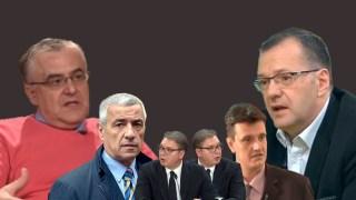 Fatić i Rakić: Aleksandre Vučiću, Vladimir Cvijan i Oliver Ivanović su Vaš Adnan Kašogi