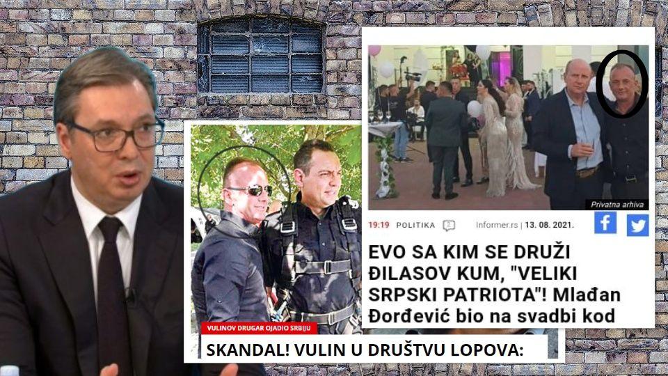Vulin i Mlađa Đorđević sa ALBANSKIM TAJKUNOM iz Bujanovca RUŠE VUČIĆA?