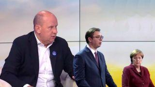 Đorđević o poseti Merkelove: Dan nemačke zastave za KOLONIJALNOG UPRAVNIKA