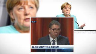 Vučić ZAKUKAO na Bledu: Ko će nam NAREĐIVATI sad kad ode Angela Merkel?