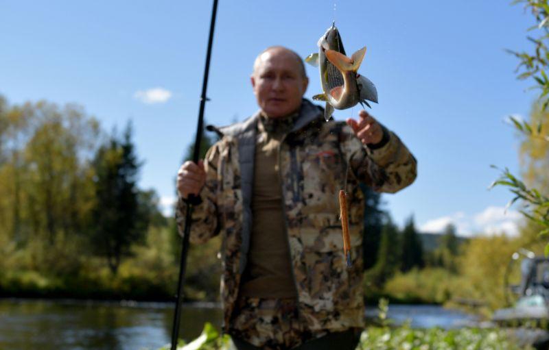 Putin proveo nekoliko dana na odmoru u Sibiru, bio u ribolovu sa Šojguom (FOTO)