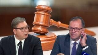 Novi 6. oktobar: Vučić kukavički izbegava suočavanje sa Rakićem, ponovo odloženo ročište po Rakićevoj tužbi