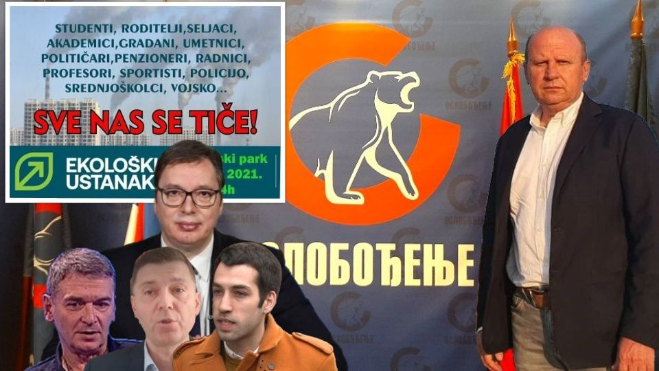 Đorđević: Njih ne interesuje ekologija, već 3% na izborima!