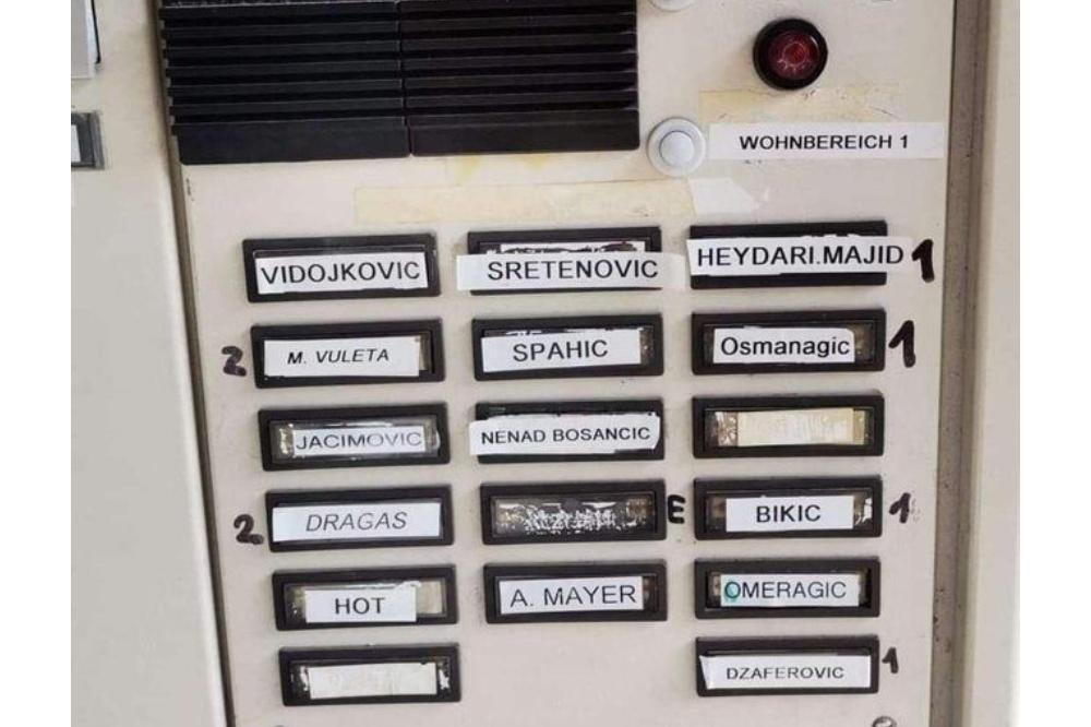 Hit foto interfona zgrade u Nemačkoj: Ex Yu zajedno
