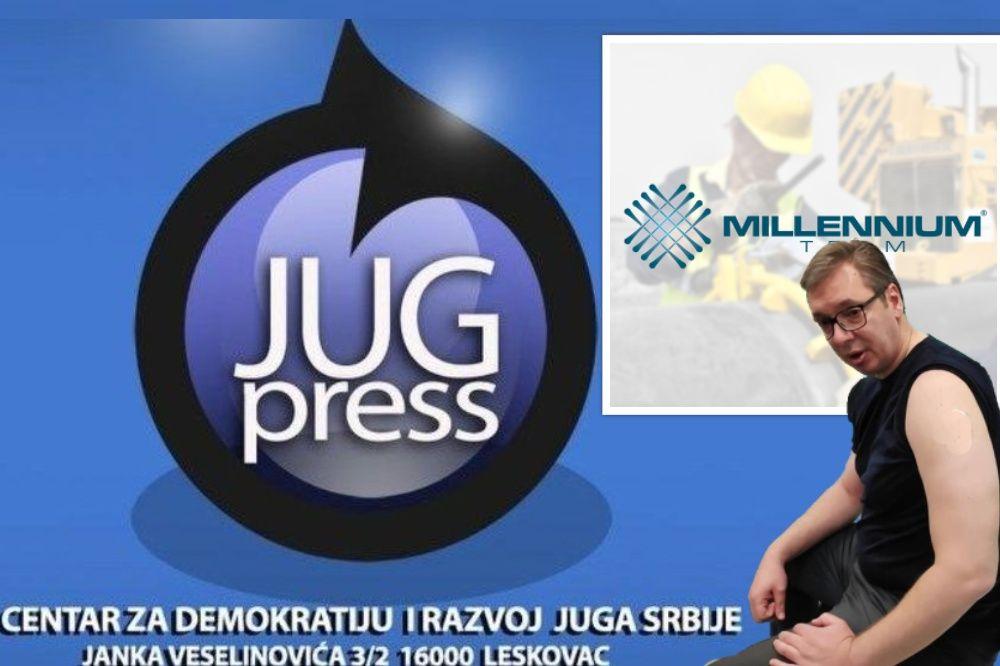 """""""Označeni smo kao neprijatelji vlasti"""": Održana pripremna ročišta po tužbama Milenijum tima protiv osnivača i urednice JUGpressa"""