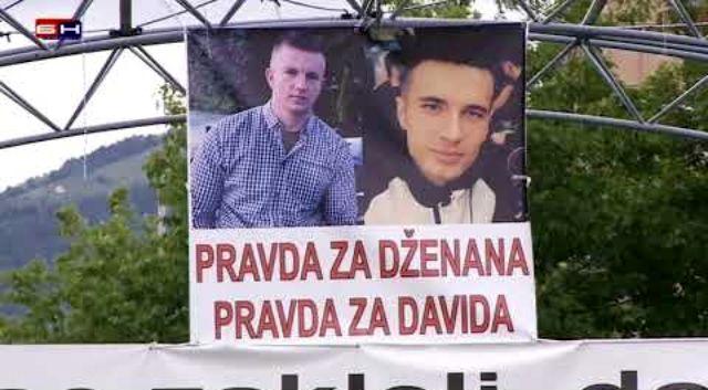 Pravda za Dženana i Davida u Sarajevu: Nekoliko hiljada ljudi tražilo da se otkriju ubice mladića