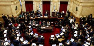 Frigerio y Pichetto comenzaron a negociar el Presupuesto 2019 reuniéndose en el Senado
