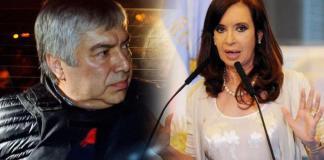 CFK y su socio, Lázaro Baez
