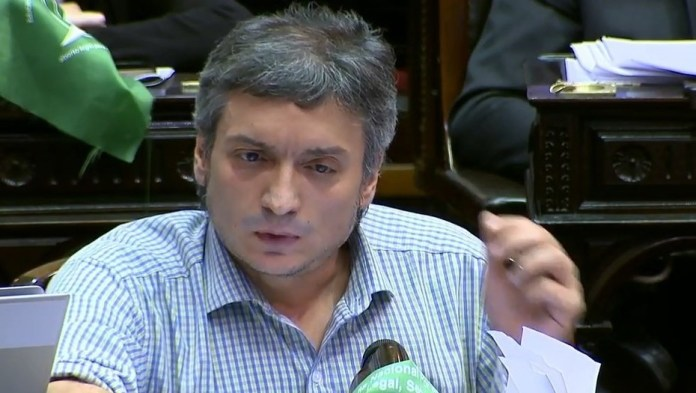 El Diputado nacional Máximo Kirchner habló con Roberto Navarro