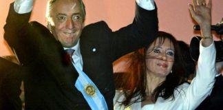 Cristina Kirchner está amparada por los fueros, sin embargo Néstor Kirchner los criticó