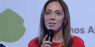 María Eugenia Vidal, recompensada