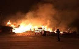 El incendio en Chapelco se suma al derrumbe en Villa La Angostura
