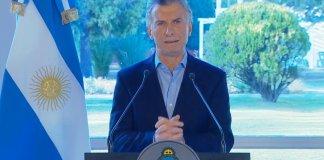 Durante el mensaje en la Quinta de Olivos, Macri pidió disculpas por culpar al votante de su caída en las PASO