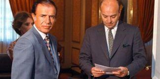 Carlos Menem y Domingo Cavallo fueron acusados de vender el predio a precio vil