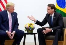 Donald Trump furioso por el aumento de casos en Brasil
