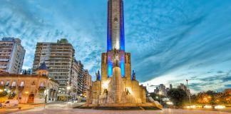 Vicentín se coló en los festejos por el Día de la Bandera