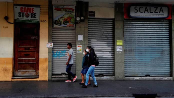 La empresas argentinas están en crisis por la cuarentena