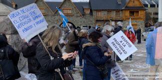 Conmoción en Bariloche