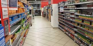 Caídas en las ventas de supermercados