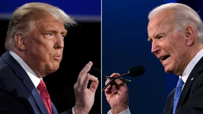 Trump y Biden, rumbo a la Casa Blanca
