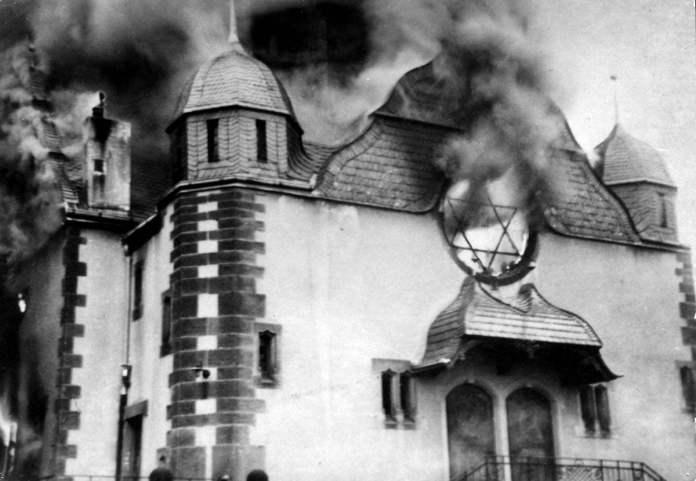 Un recuerdo atroz, la Kristallnacht