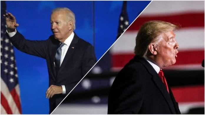 Elección peleada en Estados Unidos entre Joe Biden y Donald Trump