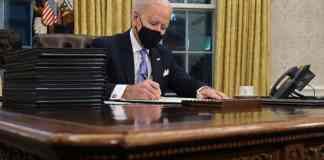 Joe Biden tomó posesión de la Presidencia