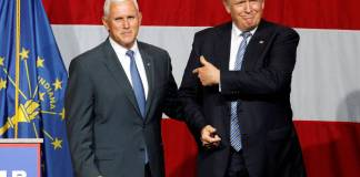 Mike Pence y Donald Trump limaron diferencias
