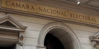 La Cámara Nacional Electoral y las PASO