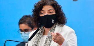 Carla Vizzotti y el coronavirus