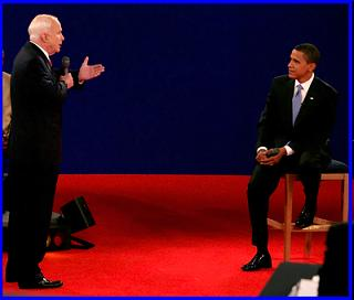 McCain & Obama Square Off In Their second Debate