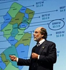 New Jersey Governor jon Corzine