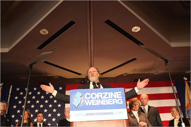Corzine Concedes