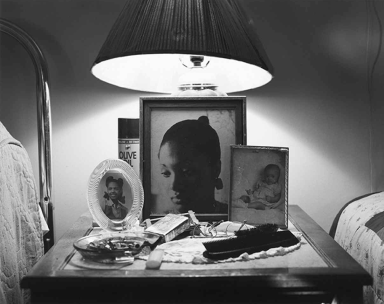 The Notion Of Family by LaToya Ruby Frazier Pg 131, Aunt Midgie and Grandma Ruby, 2007