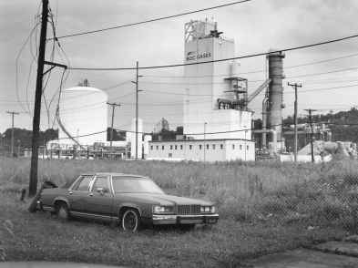 The Notion of Family by LaToya Ruby Frazier. Pg 36-37: The Bottom (Talbot Towers, Alleghany County Housing Projects), 2009