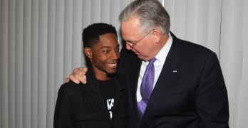 Rasheen Aldridge, Governor Jay Nixon,