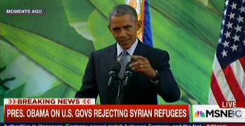 President Obama refugees