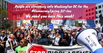 Democracy Spring revolution
