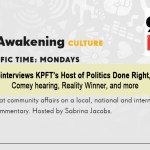 KPFA's Sabrina Jacobs interviews KPFT's Host of Politics Done Right, Egberto Willies