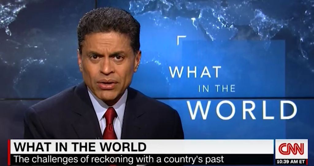 Fareed Zakaria says no to any monuments for traitors concisely