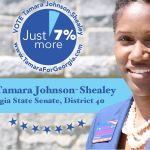 Tamara Johnson-Shealey Goergia Senate District 40