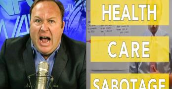 Alex Jones health care sabotage gop