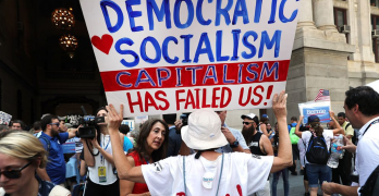 Capitalism has failed most Americans - Try Democratic Socialism