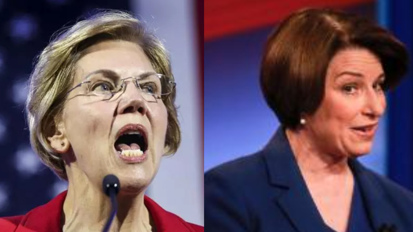 Yes, we can! Elizabeth Warren is correct. Klobuchar and the centrist cabal hinders party.
