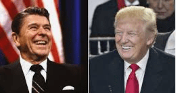 Ronald Reagan Donald Trump