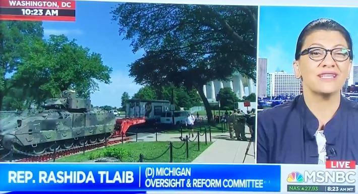 Happy 4th of July. Enjoy it Trump-less as Rashida Tlaib give Trump's 4th context.