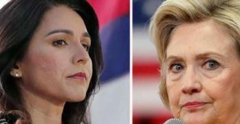 Hillary Clinton - Tulsi Gabbard